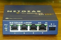 4 port Netgear Ethernet hub