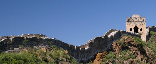 Great Wall of China by beggs