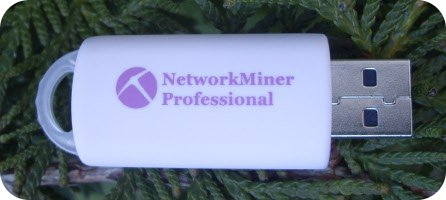 NetworkMiner Professional USB flash drive