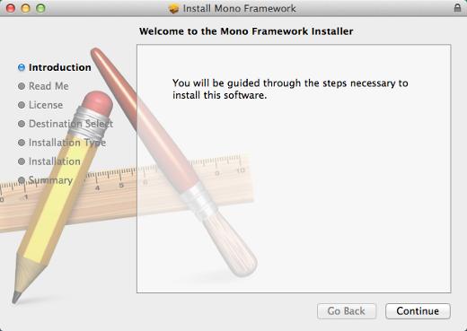 Mono Framework Installer