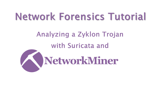Analyzing Zyklon Malware in NetworkMiner