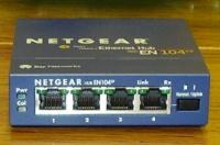 4 port Netgear Ethernet hub