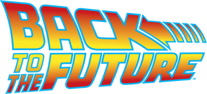 Logo for Back to the Future series logo - public domain