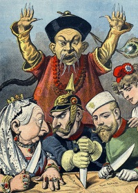 An illustration from supplement to 'Le Petit Journal', 16th January 1898.