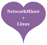 NetworkMiner Loves Linux