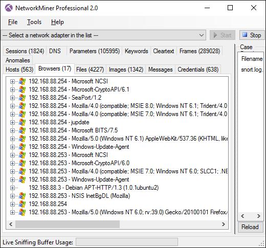 SNIFFER 1.97 IP TÉLÉCHARGER