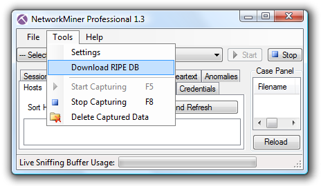 Download RIPE database