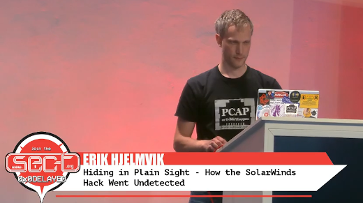 Video: Hiding in Plain Sight, How the SolarWinds Hack went Undetected