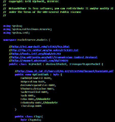 NetworkMiner Source Code