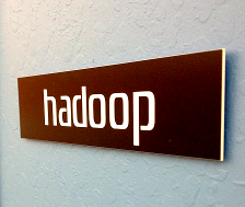 Hadoop photo by Robert Scoble