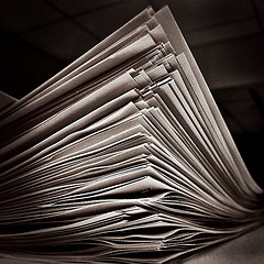 Stack of Papers by Jenni C